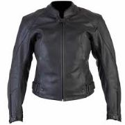 Spada Vibe ladies leather jacket black